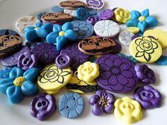 Homemade buttons