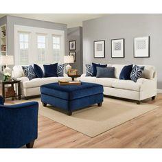 Simmons Upholstery Sophia Stone Sofa - 4002BR-03 SOPHIA STONE
