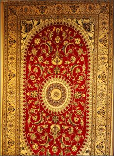 Hand-made Persian carpets are strong, does not lose its shape, allows fine weaving and can be spun into strands relatively thin.  #Persianrug #PersianCarpet #persianrugsinfo #ruglovers