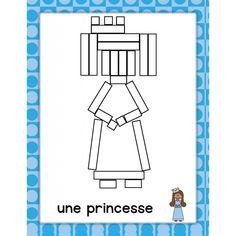 Réglettes médiévales Chateau Moyen Age, Château Fort, Dragons, Busy Bags, Numeracy, Mathematics, Prince, Galette, Maths