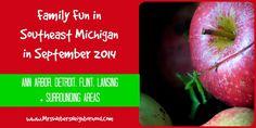 Family Fun in Southeast Michigan in September 2014
