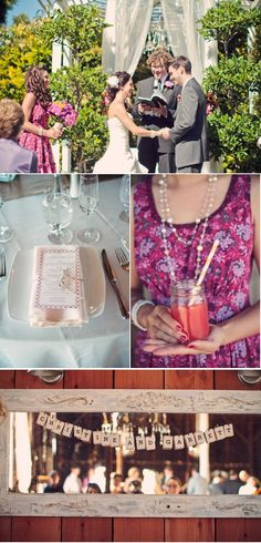 Beautiful wedding colors and theme