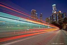 motion blur/slow shutter.