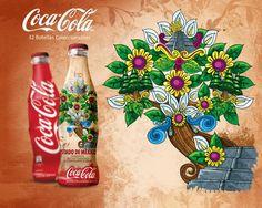 32 diseños para Coca Cola Bicentenario by cesar nandez, via Behance