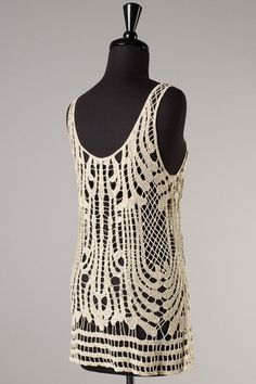 Picture of Glitz and Glam Crochet Top