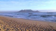 Magnificent Table Mountain as seen from Blouberg Beach