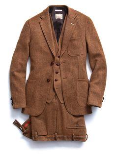 Harris 3pc Tweed suit by Gant