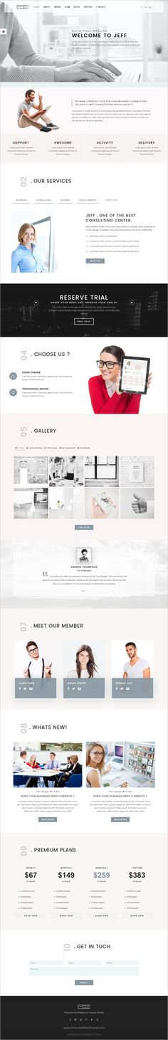 Jeff is a wonderful responsive #bootstrap HTML #template for #webdev OnePage and Multipage Marketing Agency, Corporate , Business, Portfolio or Photographers website download now➩ https://themeforest.net/item/jeff-onepage-and-multipage-creative-corporate-agency-business-and-portfolio-html-template/18645700?ref=Datasata