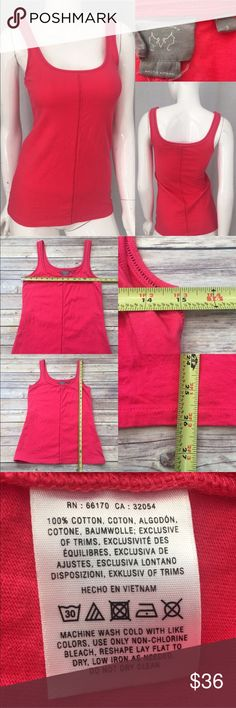 Size Small Anthro Vanessa Virginia Pink Tank Top • Measurements are in photos  • Material tag is in photos • Normal wash wear, no flaws • scoop Neckline  • Longer Length  • Sleeveless  C3/33  Thank you for shopping my closet! Anthropologie Tops Tank Tops