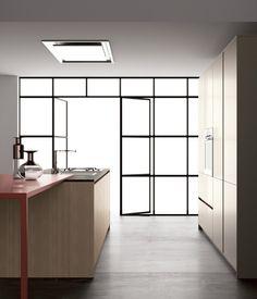 Cucina componibile moderna, Cucine in Fenix NTM®
