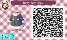AC New Leaf QR Codes, tenshiiclone: second half of FOUR furry winter...