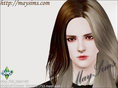 Mayims: 심즈3 헤어 (Sims 3 Hair) - May_TS3_Hair11M