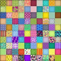 100 Square Tile Puzzle (400 pieces)