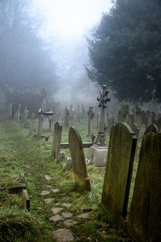 Hampstead Parish Burial Ground - London, England by bautisterias