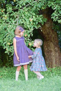 Maleny — Little Lizard King Vintage Kids Clothes, Vintage Children, Little Lizard, Pin Tucks, Woven Fabric, Designer Dresses, Ruffles, Bodice, Flower Girl Dresses