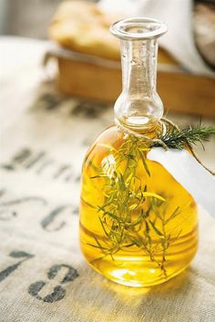 make your own infused vinegars and oils.