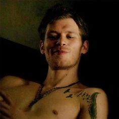 vampire diaries klaus...oh you mean pure sex. Yummm