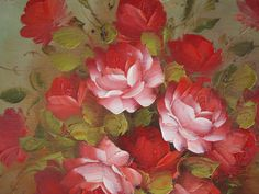 Roses from painting