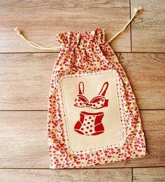 Sac à linge sac de rangement pour sous-vêtement sac de