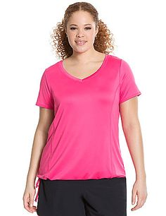 ae50a939673 A shirt that might not fly up with burpees  Plus Size Workout