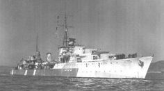 HMS Gurkha (G63) - L class destroyer  Ordered: 31 March 1938  Laid down: 18 October 1938  Launched: 8 July 1940  Commissioned: 18 February 1941  Fate: Sunk, 17 Jan 1942
