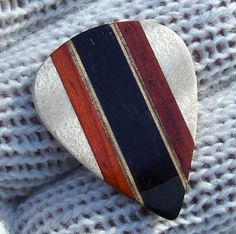 Custom Handmade Wood Guitar Pick