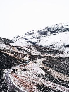 Winter in Scotland.