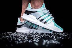Adidas Equipment Support ADV - Tiffany Custom (by dentkickscustom) Tenis Botinha, Sapatilhas, Sapatos, Sapatos Vegan, Tênis Adidas, Tênis Casuais, Reebok, Roupas De Rua, Tiffany