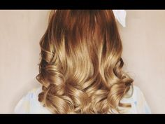 No Heat Bouncy Curls! - 5 Minutes!