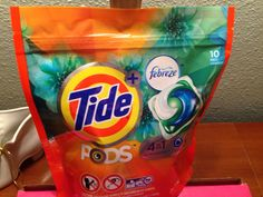 Tide Pods #TidePods #XOVoxBox #influenster received free from Influenster for testing purposes