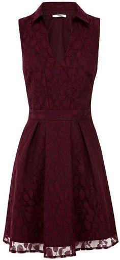Lace Shirt Dress - Lyst