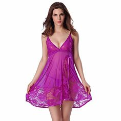 d506bdd2b1 Sexy Women Exotic Lingerie Temptation Perspective Nightwear Sleepwear  Bodydoll Dress G-String    For