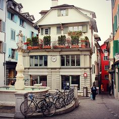 How Zurich scared us out of Switzerland / A Globe Well Travelled