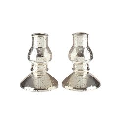 "The Jolly Christmas Shop - Liown 4.5"" Mercury Champagne Taper Candle Glass Holder Set of 2 36057, $10.99 (https://www.thejollychristmasshop.com/liown-4-5-mercury-champagne-taper-candle-glass-holder-set-of-2-36057/)"