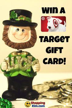 Win A Target Gift Card in the Lucky Leprechaun Giveaway from ShoppingKim.com! #LuckyLeprechaun2017