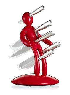 The most amazing kitchen knife set ever invented.