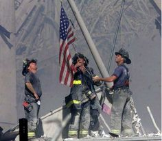 The iconic 9/11 flag that disappeared 15 years ago has been found — nearly 3,000 miles away