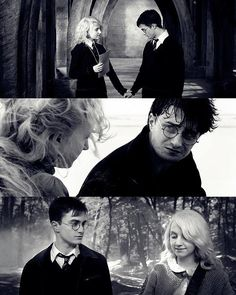 The friendship of Harry and Luna