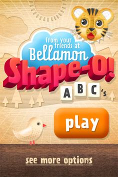 "Shape-O ABC's for iPhone ($1.99) Shape-O! ABCs encourages ""learning by doing"" by integrating puzzles, shapes, words, colors and sounds into one engaging activity. It features over 100 inventive shape-puzzles and was developed in consultation with a PhD level education specialist. Shape-O!  ★ Over 100 images  ★ Alphabet & spelling  ★ 8 color palettes  ★ Real instrumental sounds"