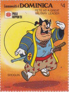 "Pedro vestido como un gran jefe militar ""Phila Nippon '91"" 22/05/1991 Dominica"