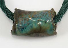 Biżuteria ceramiczna. - doradoradora - Naszyjniki z zawieszkami