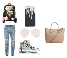 """""""Lazy Day"""" by joanne-jkmn on Polyvore featuring Dolce&Gabbana, Converse and MANGO"""