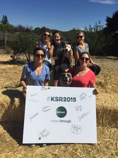 Ketchum colleagues volunteered with the organization BAD RAP to give these pitbulls a day of fun in Oakland, CA!