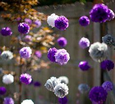 Hanging Tissue Paper Flowers | 26 Absolutely Stunning Paper Flower DIYs