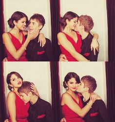 Selena Gomez And Justin Bieber Caught On Camera Justin Bieber Selena Gomez, Estilo Selena Gomez, Justin Bieber And Selena, Justin Bieber Kissing, Teen Romance, Relationship Goals Pictures, Photo Couple, Marie Gomez, Cute Couples Goals