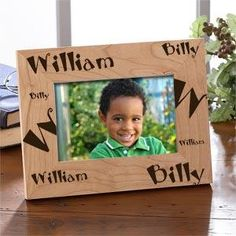 Personalized Kids Name Wooden Picture Frame