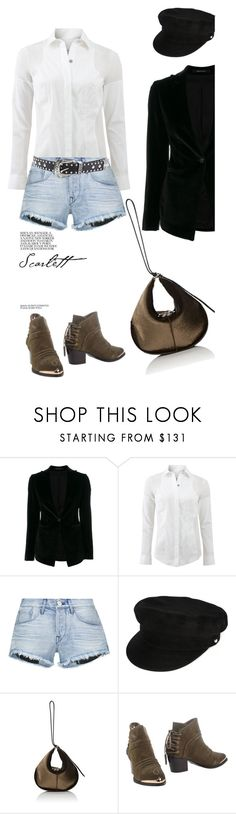 """""""Be Yourself '"""" by dianefantasy ❤ liked on Polyvore featuring Tagliatore, KaufmanFranco, 3x1, Manokhi, Nina Ricci, Hypnosi, Forever 21, polyvorecommunity and polyvoreeditorial"""