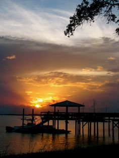 Sunset on the Beach - South Carolina Coast #ridecolorfully