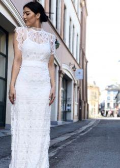 331135b950a5 Vintage brudekjoler . Www..brudekjoler-weddingdeluxe.dk  vintage  brudekjole