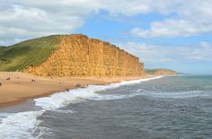 West Bay, Dorset, UK | Things to do in West Bay | Perfect for a family day out walking the coast and crabbing off the harbour.
